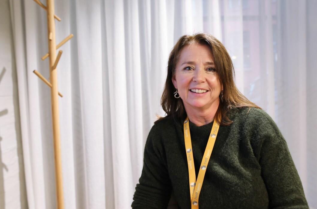 Cathrine Laksfoss leder distribusjonssatsingene til Schibsted.