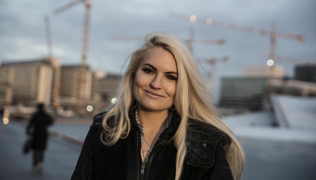 Isabelle Ringnes var deltager på Singularity University i fjor. I år organiserte hun den norske finalen. Foto: Per-Ivar Nikolaisen