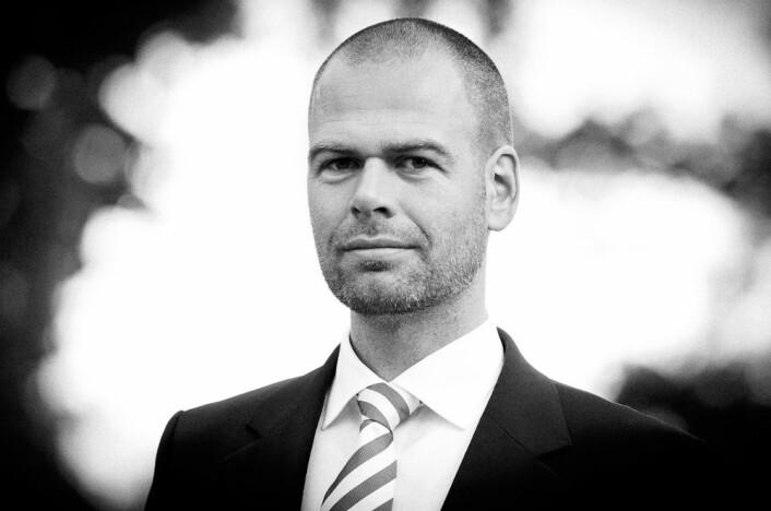 Innovasjonsspesialist Christian Løverås. i DNB.