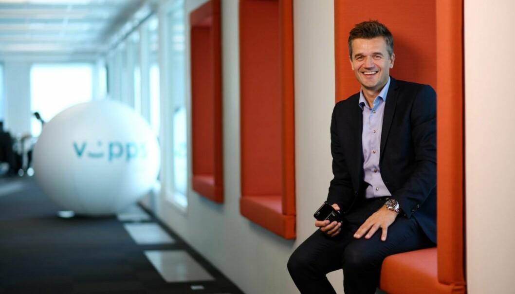 VIPPS-SJEF: Rune Garborg, vippssjef. Foto: Stig B. Fiksdal