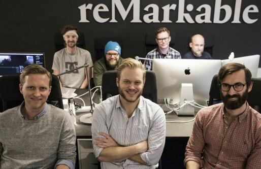 reMarkable-suksessen: Norsk papirbrettgründer blir pensum på Harvard