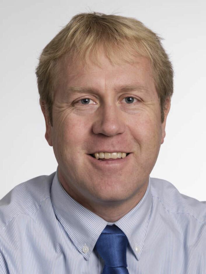Styreleder Øystein Walle.