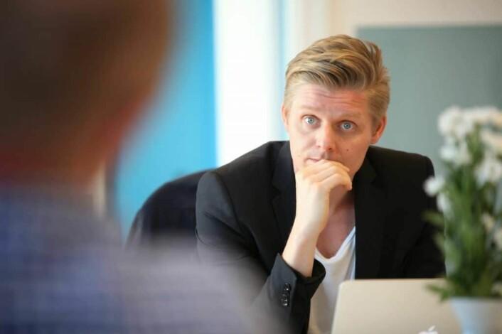 Ståle Fredlund Husby i Relink får inn en ny dose penger.
