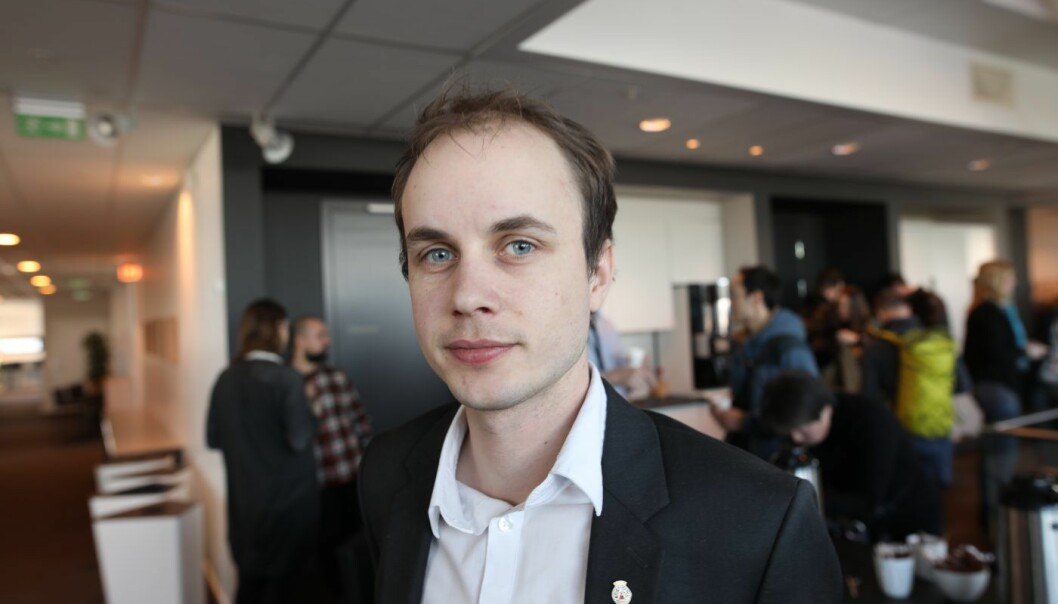 Torkil Vederhus (MDG), byrådssekretær under byrådet for finans i Oslo kommune.. Foto: Lucas Weldeghebriel