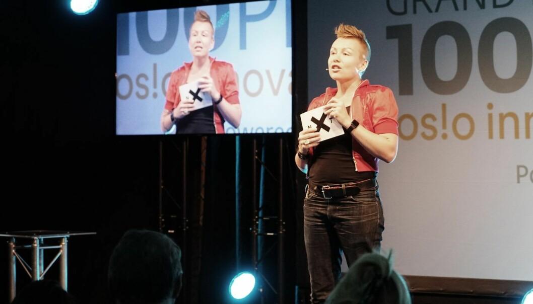 Anita Schjøll Brede er en v initia. Foto: Mona Sprenger