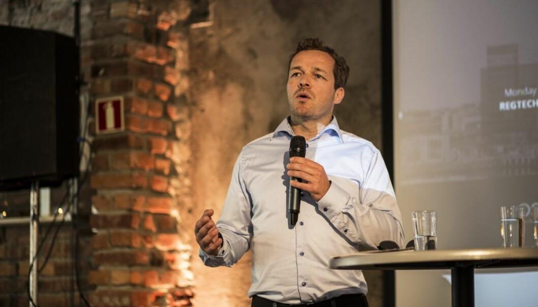 Fredrik Winther i Oslo Business Region. Foto: Per-Ivar Nikolaisen
