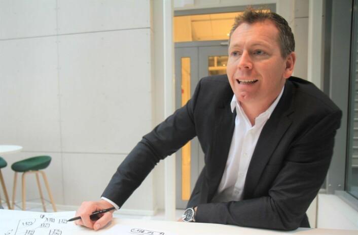 Christian Rangen, styremedlem i X2 Labs. Foto: Lucas Weldeghebriel