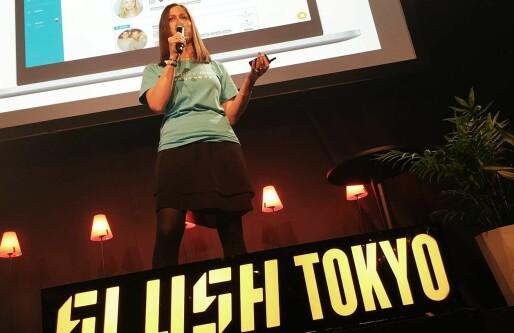 Inzpire.me til semifinalen i Slush Tokyo: Marie Mostad