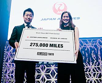 Det måtte en smartklokke for blinde til, for å slå Inzpire.me i finalen i Slush Tokyo:  Men for Marie Mostad ble finalen en stor bonus