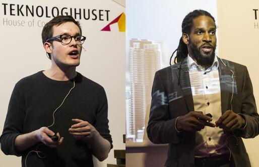 Disse to vant Singularity University-finalen: En sivilingeniør som lærer bort tegnspråk. En tidligere amerikansk fotballproff som gjør landsbygda attraktiv.