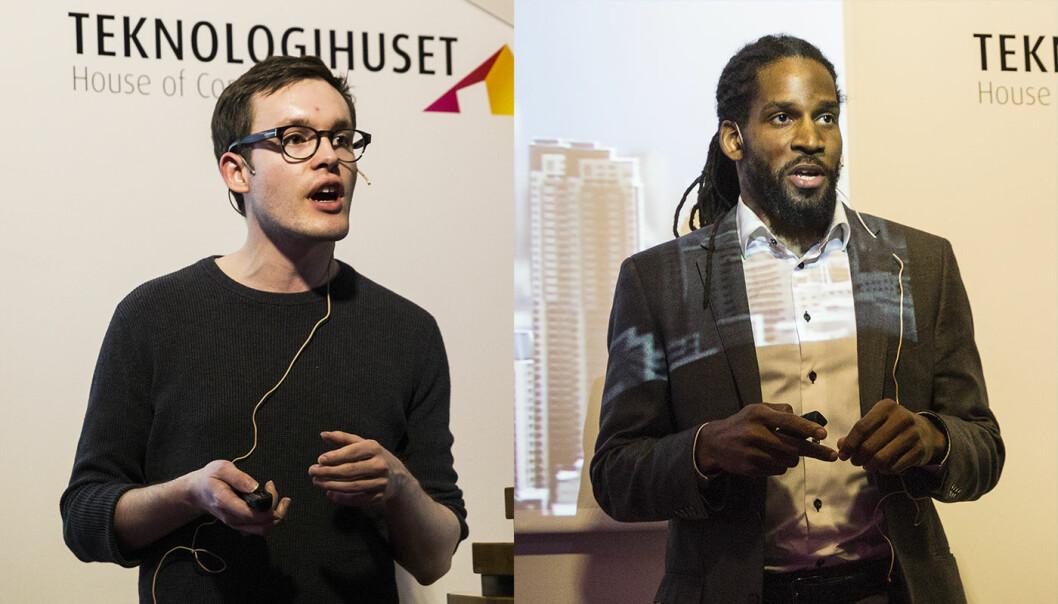 Endre Olsvik Elvestad og Marques Anderson vant den norske finalen i Global Impact Challenge.
