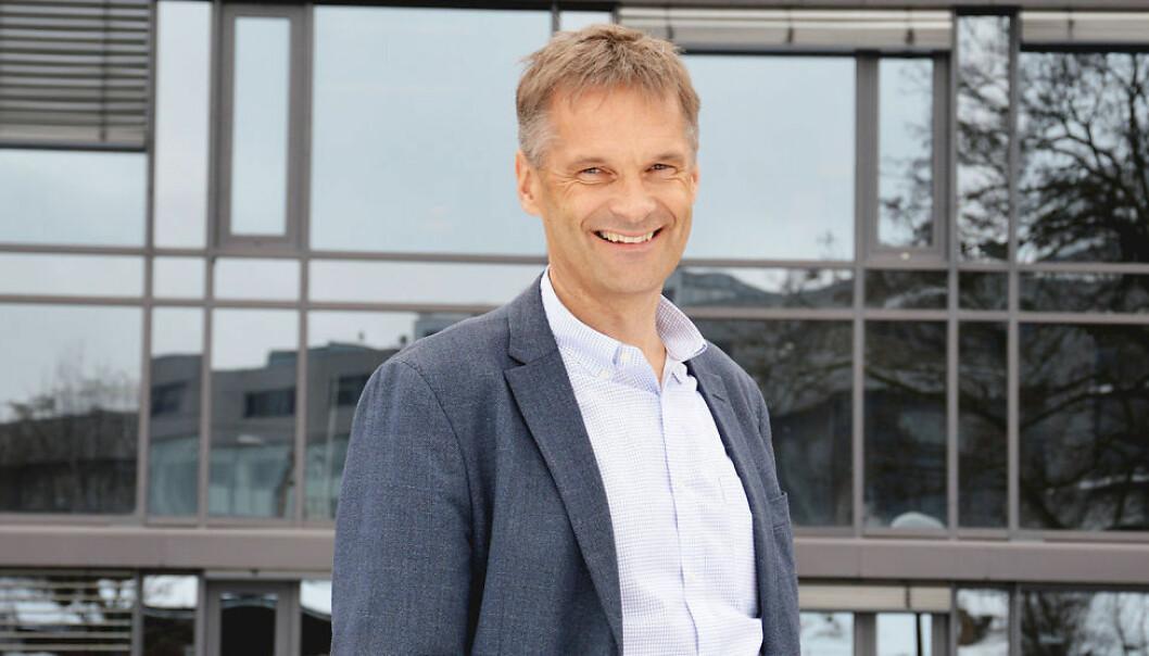 Telia-sjef Abraham Foss. Foto: TeliaSonera
