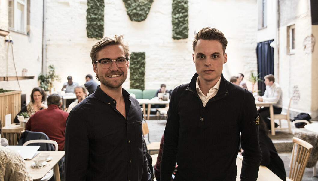Oscar Hellenes i KeyButler og Gustav Witzøe fant sammen i 2017. Foto: Per-Ivar Nikolaisen