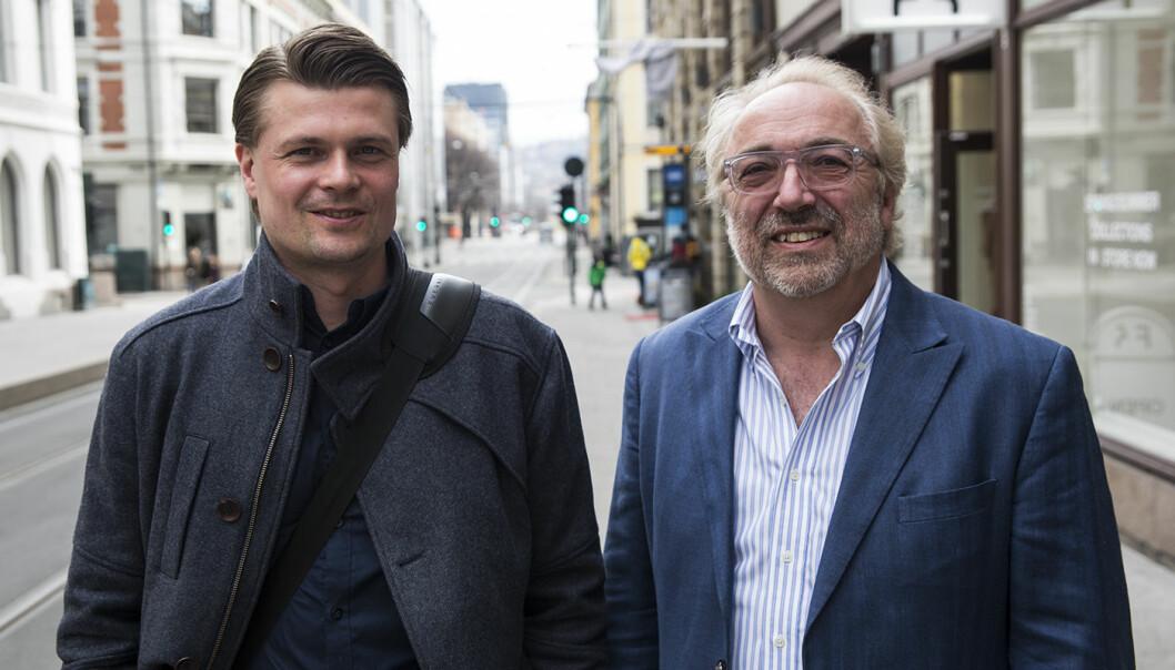Erling Maartmann-Moe i Alliance har investert i blant andre Per Simonsen og MemoScale. Foto: Per-Ivar Nikolaisen