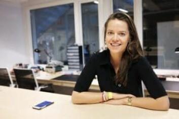 Aurore Belfrage i EQT Ventures har lansert en app som skal koble gründere med engleinvestorer. Foto: Lucas H. Weldeghebriel