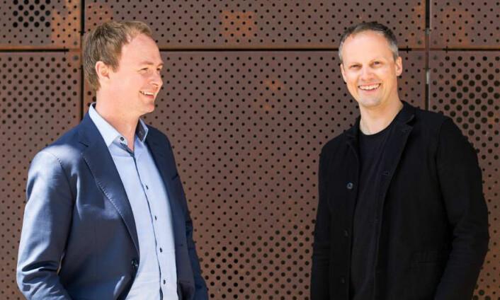 Magne Uppmann og Teodor Bjerrang i SNÖ Ventures. Foto: SNÔ