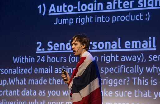 Growth Hacker Vince Clancy: Selskaper som ikke følger med i timen vil bli forbigått av 19-åringer