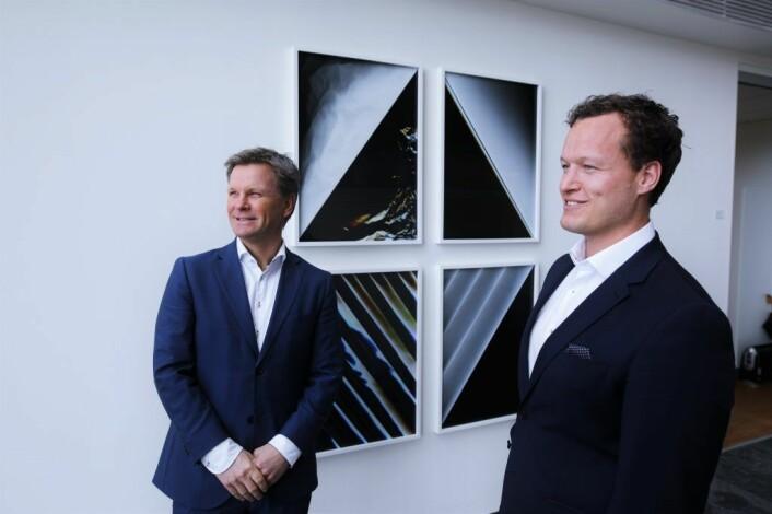 Atle H. Carlsen, administrerende direktør i Advokatselskapet Selmer. Remi Christoffer Dramstad, senioradvokat i Selmer. Foto: Lucas H. Weldeghebriel