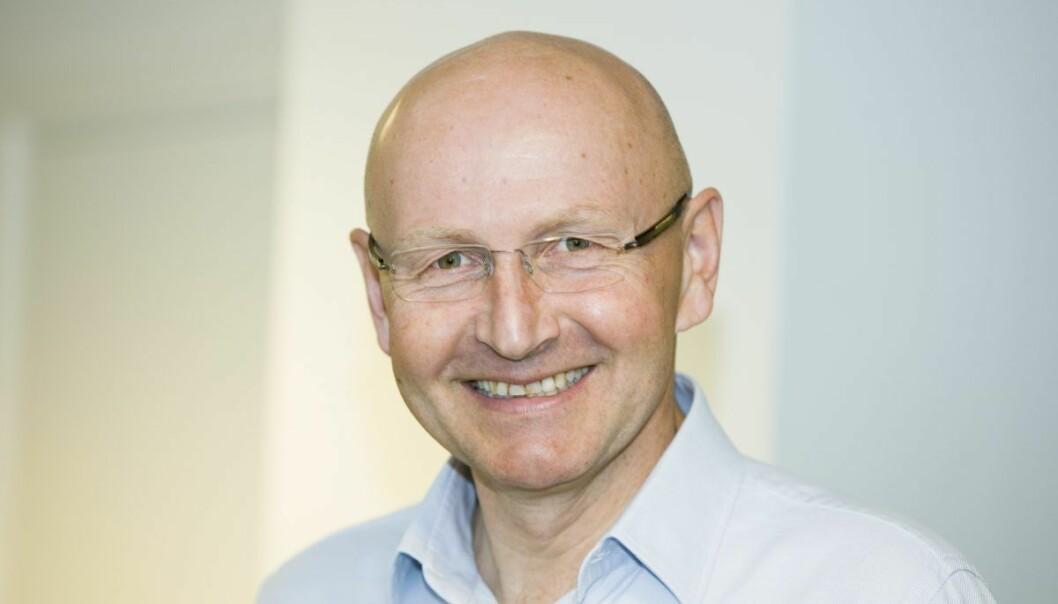 Didrik Munch, styreleder i Schibsted Vekst og konsernsjef i Schibsted Norge. Foto: Berit Roald / Scanpix