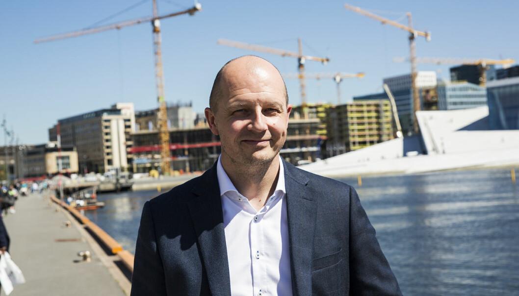 Pål Reinert Bredvei i Documaster. Foto: Per-Ivar Nikolaisen