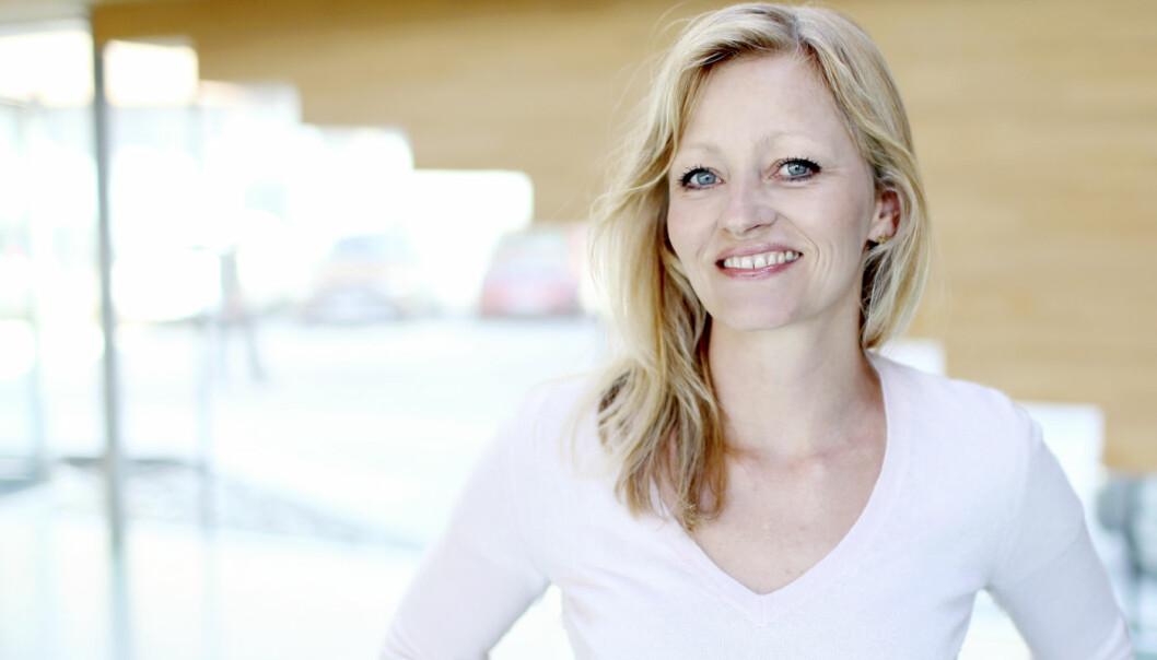 Gry Isabell Sannes i IKT-inkubatoren til Validé.