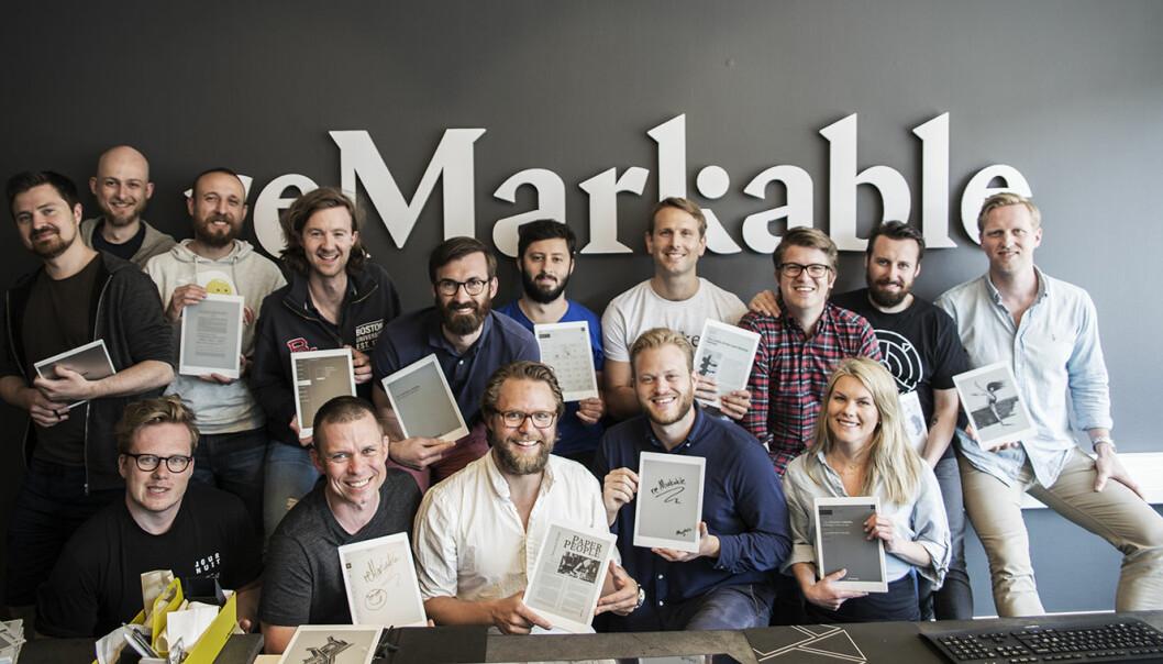 ReMarkable-teamet i 2017. Foto: Per-Ivar Nikolaisen