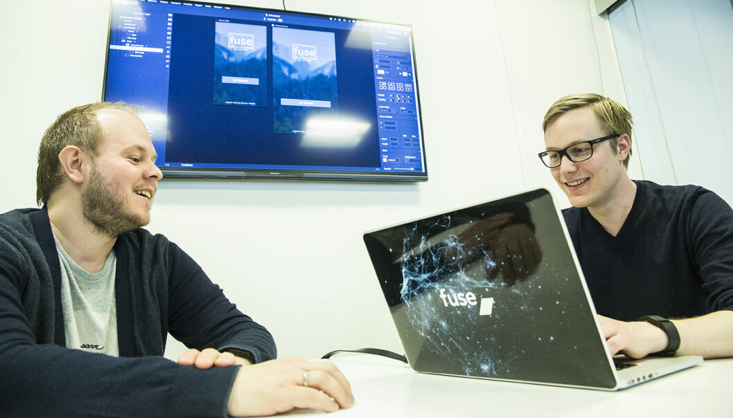Bent Stamnes og Anders Bondehagen i Fuse. Foto: Per-Ivar Nikolaisen