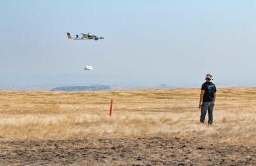 Tester sporing for droner