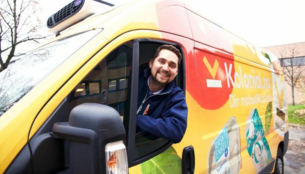 Karl Munthe-Kaas, daglig leder i Kolonial.no. Foto: Kolonial.no
