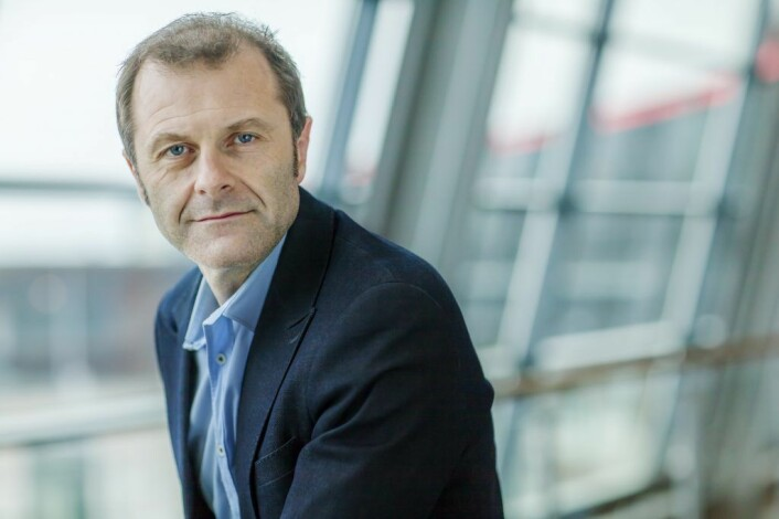 Atle Lessum, kommunikasjonssjef i Telenor. Foto: Telenor.