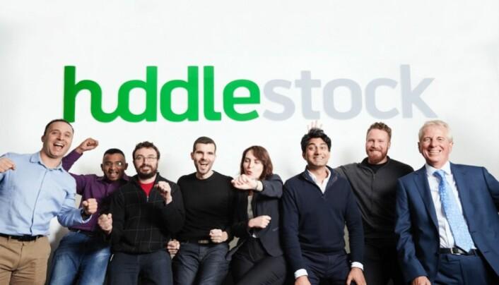 Fintech-oppstarten Huddlestock omtales som suksesscase i rapporten. Foto: Huddlestock.