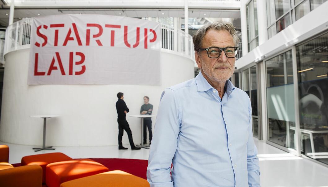 Harald Møller i Møllergruppen på åpningen av MobilityLab. Foto: Per-Ivar Nikolaisen