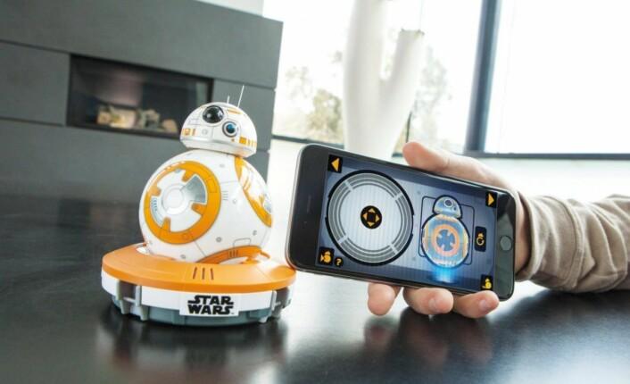 Sphero. Årets Star Wars-leketøy i 2015. Produktbilde.