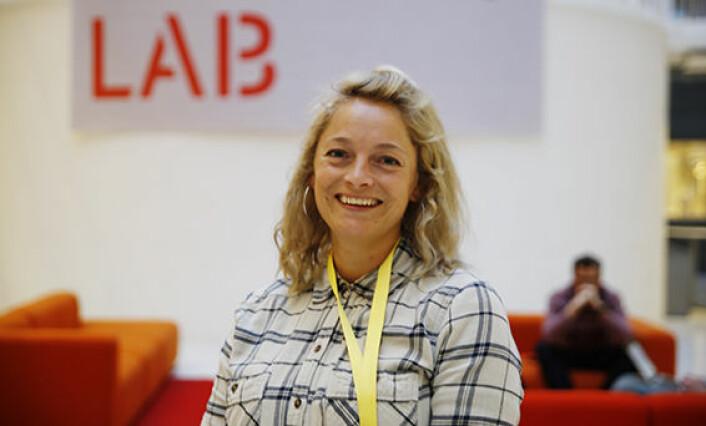 CFO Lise Fulland er en av flere nyrekrutteringer til StartupLab det siste året. Hun kom fra Schibsted-konsernet. Foto: Per-Ivar Nikolaisen