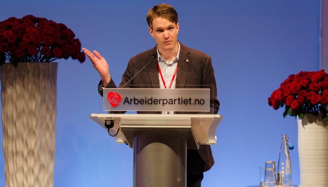 Arbeiderpartiets tech-politiker på Stortinget, Torstein Tvedt Solberg,