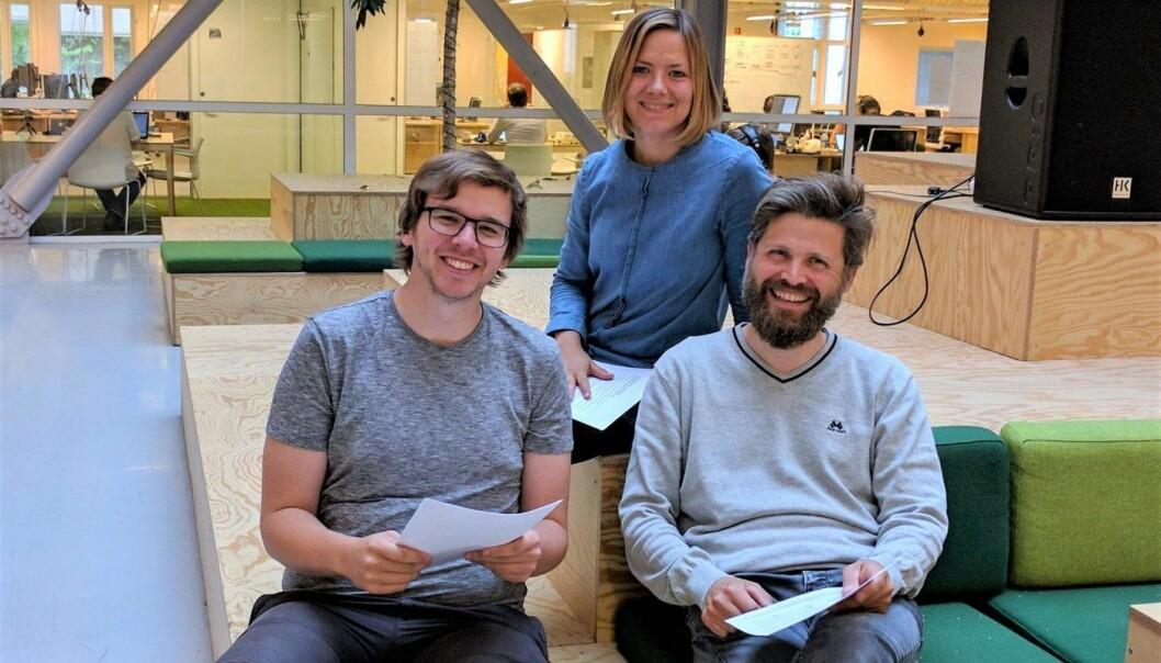 Dag Inge Aas, Ida Aalen og Svein Willassen. Foto: Confrer AS.