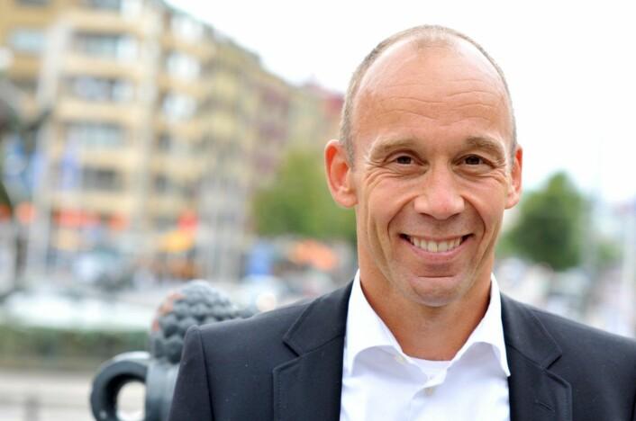 Olav Johan Thorstad er norgessjef for Sats/Elixia. Foto: Sats/Elixia
