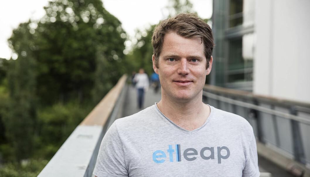 Christian Rømming i Etleap. Foto: Per-Ivar Nikolaisen