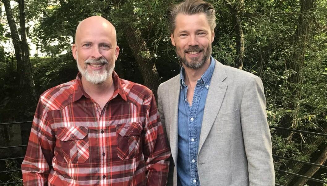 Rolf Risnes og Lars Petter Kjos i Motimate. Foto: Motimate.
