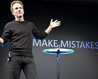 Rolf Assev ved StartupLab vet ikke om hans største tabbe enten var å si nei til Apple eller om det var Google