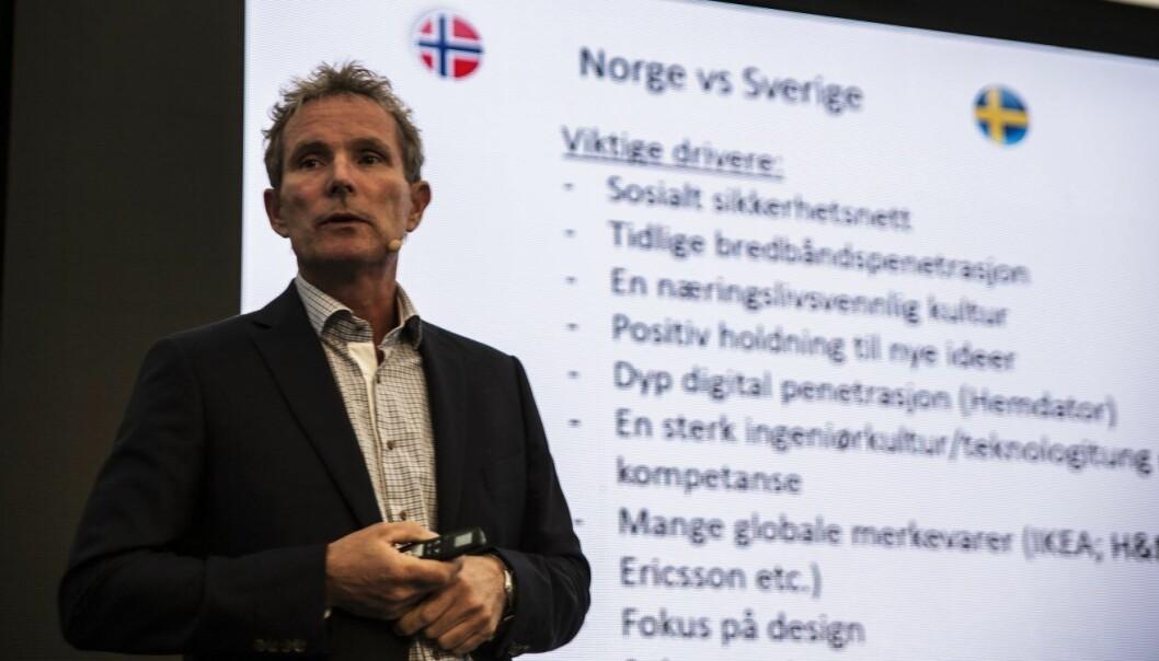 Tellef Thorleifsson i Northzone. Foto: Per-Ivar Nikolaisen