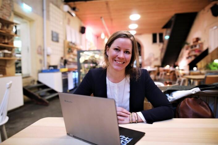 Merete Nygaard i Lawbotics er advokat og bygger en plattform for avanserte juridiske tjenester. Foto: Lucas H. Weldeghebriel