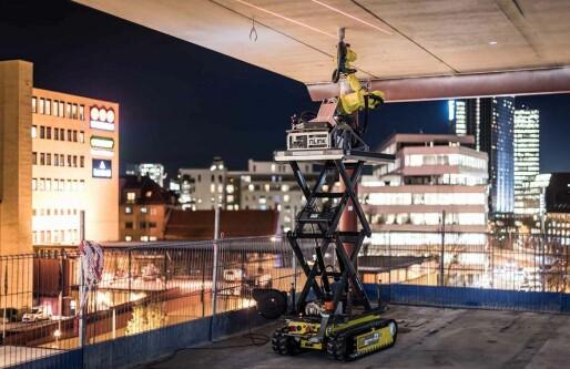 Norske gründere kaprer EU-millioner for å skape roboten som kan ta over byggeplassens farligste jobber