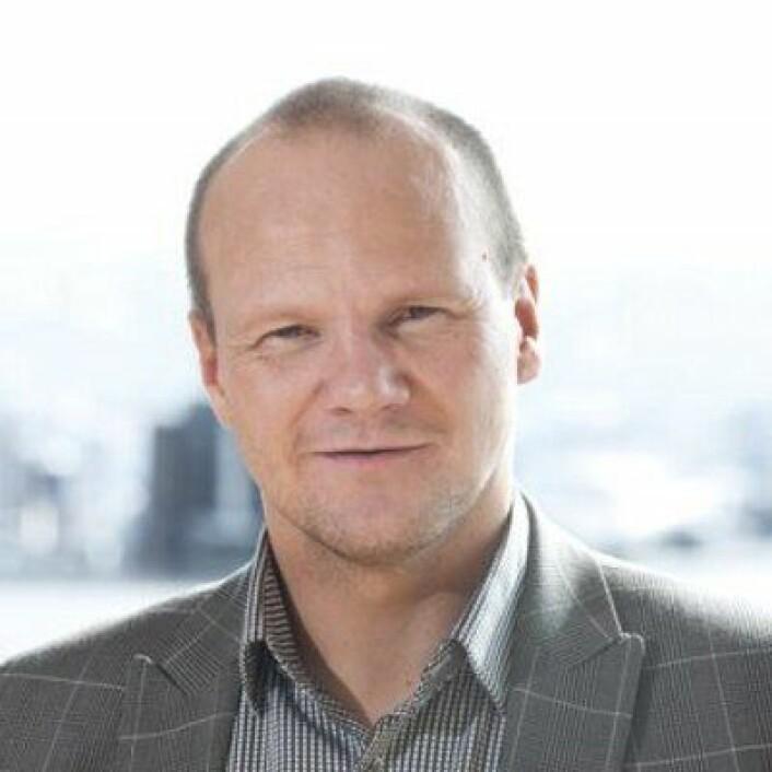 Øystein Ingdahl er kommunikasjonsdirektør i Accenture. Foto: Accenture