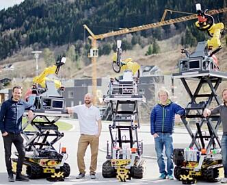 Internasjonal verktøygigant kjøper seg opp i norsk robotstartup: «Byggebransjen er et mekka for folk som har lyst til å robotisere»