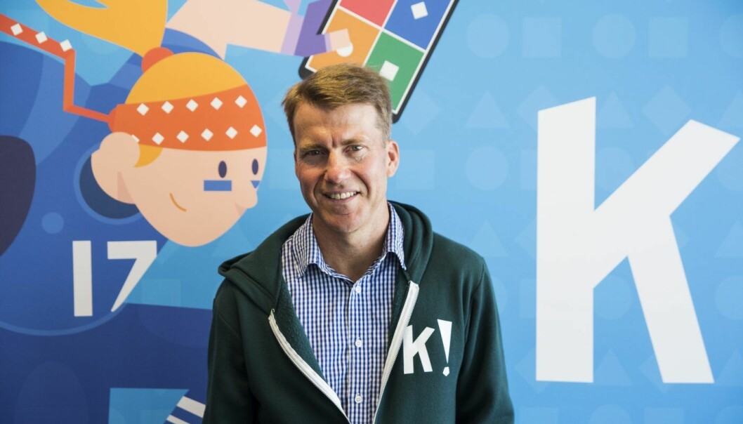 Erik Harrell, nå tidligere sjef i Kahoot. Foto: Per-Ivar Nikolaisen