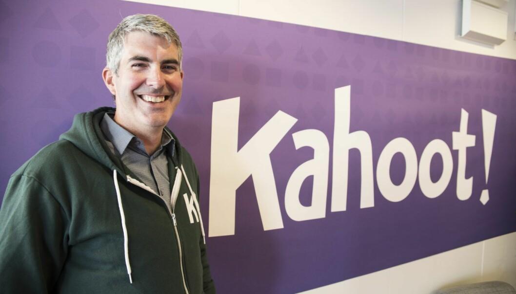 Sjef for Kahoot at School, Sean D'Arcy Foto: Per-Ivar Nikolaisen