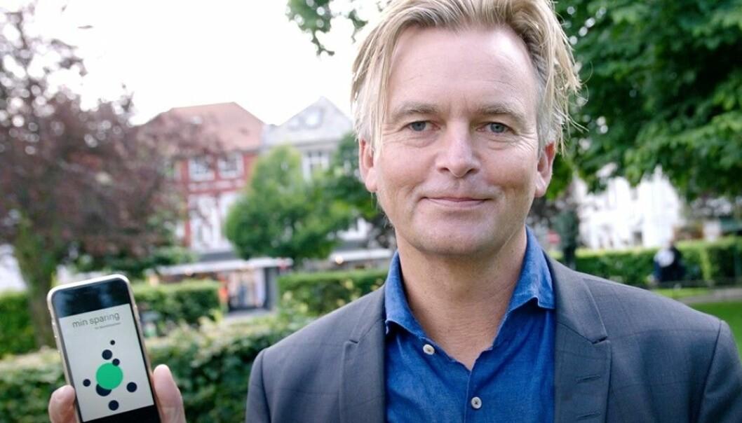 Skandiabanken skifter navn til Sbanken og Magnar Øyhovden er sjef. Foto: Skandiabanken