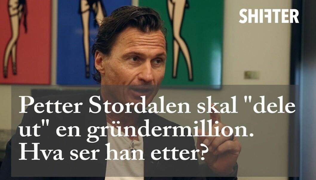 Petter Stordalen skal investere en gründermillion. Foto: Shifter