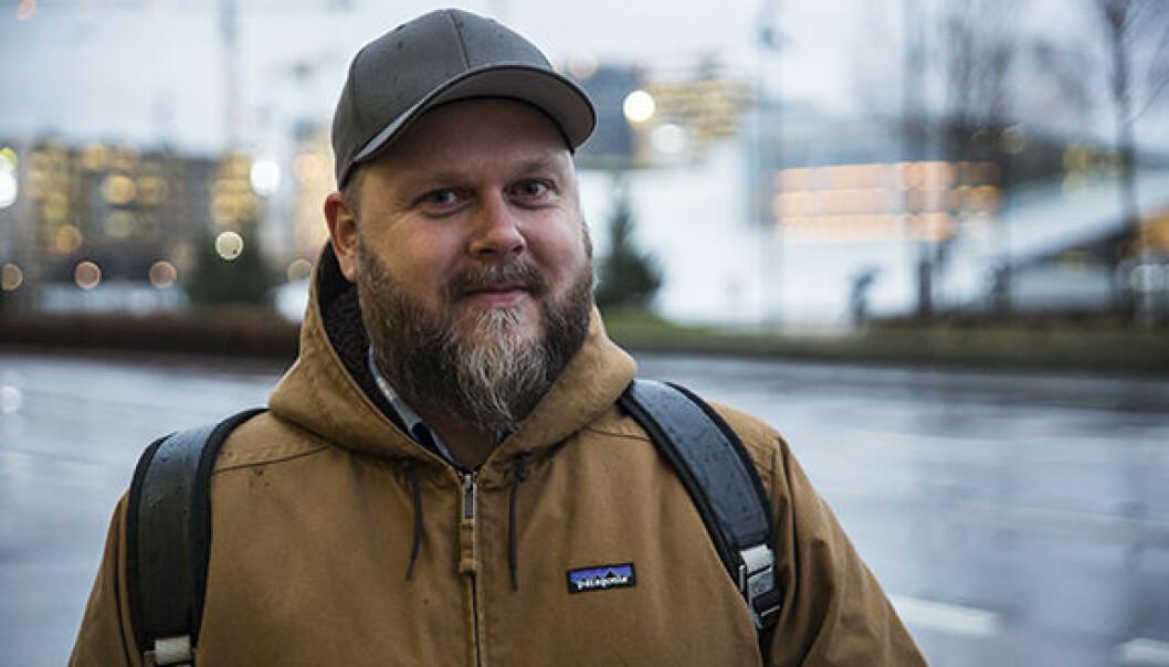 Lars Johan Bjørkevoll. Foto: Per-Ivar Nikolaisen.